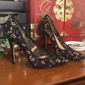 -BCBGMaxAzria- Lace High heel pumps